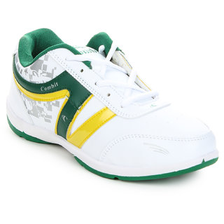 Columbus Men's White Sports Shoes