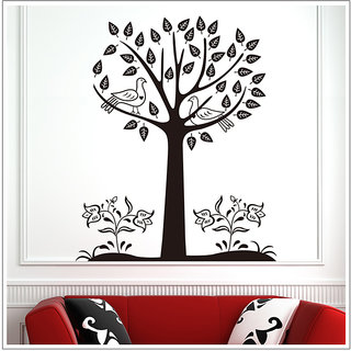 Black tree large wall sticker for sitting room wall Sticker