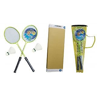 kapil Badminton Racquet Plus Cover