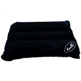 Familiz Inflatable Travel Air Pillow - Black
