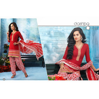 Patiala Cotton Dress Material