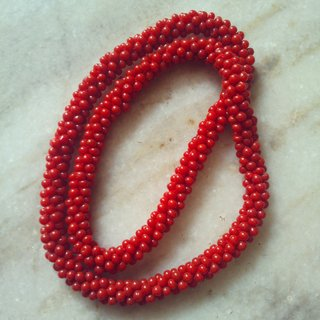 Beads Necklace GLITZY BY ROOHIE