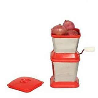 RBJ Onion And Vegetable Chopper Cutter In Stainless Steel