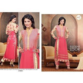 Hina Khan pink Exclusive Designer Salwar Kameez