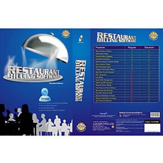 Lca Soft Restaurant Billing Software - Standard Edtion
