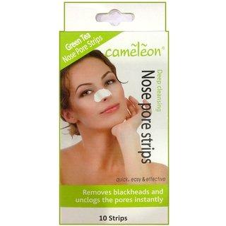 Cameleon Green Tea Nose Pore Strips Deep Cleansing-10Strips