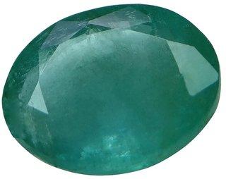 2.52 Ct. / 2.8 Ratti Natural & Ligs Certified Emerald (Panna) Gemstone (AGJ0948)