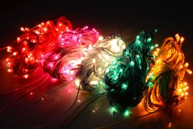 Set of 5 Rice lights Serial bulbs decoration lighting for Festivals/Parties