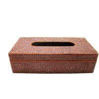 Home Essentials Copper Glitter Hand Made Tissue Box 10.5x5.5x2.75 inch