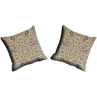 meSleep  Paisely Cushion Cover (20x20)