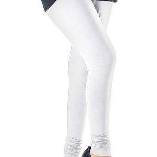 7648c30cd9 Leggings - White XXL Size Cotton Legging for women and girls - Ishita  Fashions