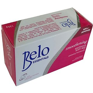 Belo Smoothening And Skin Whitening Day Soap With Skin Vitamins 1Pc (135 g)