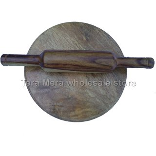 Fancy Wooden Sheesham Chakla Belon Set