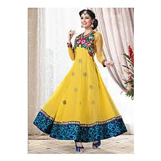 368bf3afcc1e Shopclues is a leading online shopping portal in India offers anarkali  suits at lowest Prices Product Id   1572656