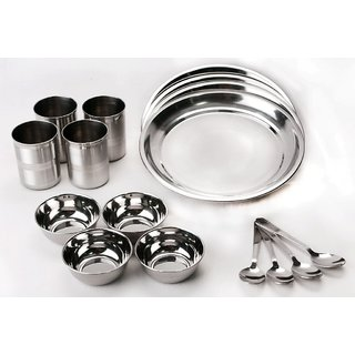 WM 16 Pcs Stainless Steel Dinner Set