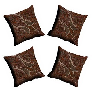 meSleep Abstract Paisely Cushion Cover (20x20)