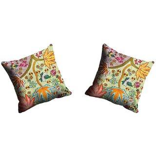 meSleep Maple Flowe Cushion Cover (20x20)
