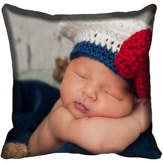 meSleep Baby Digitally Printed Cushion Cover (16x16)