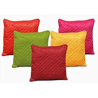 Dekor World Trellis Cushions Cover set of 5