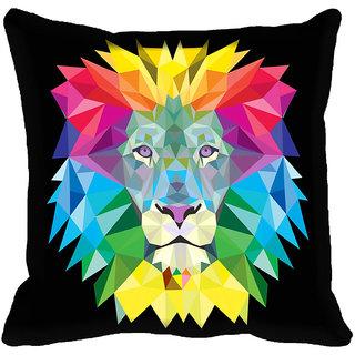 meSleep Abstract Digitally Printed Cushion Cover (16x16)