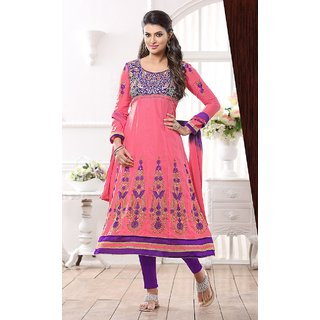 Semistitched Suit Dress Material