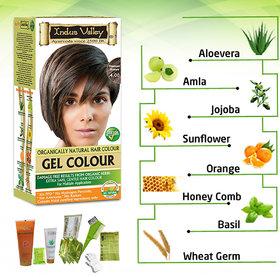 Indus valley Gentle Hair color- Medium Brown 4.00