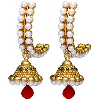 Zaveri Pearls Traditional Indian Earring