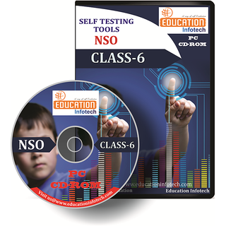NSO CLASS 6 English Offline Test Papers CD by Education Infotech
