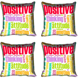 meSleep Quotes Digital Printed Cushion Cover (16x16)
