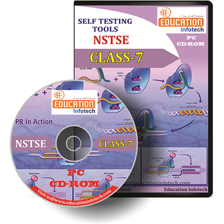 NSTSE CLASS 7 English Offline Papers CD by Education Infotech