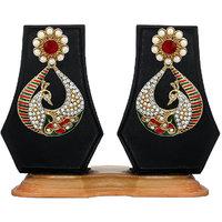 Zaveri Pearls Peacock Persona Dangale Earring