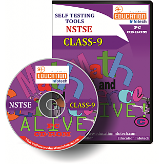NSTSE CLASS 9 English Offline Test Papers CD by Education Infotech