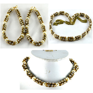matching anklet kamrbandh necklace