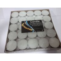 Tea Light Candles - Pack Of 100 - White