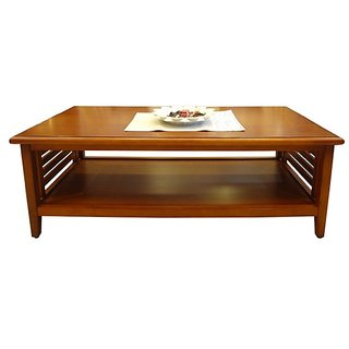 Charmant Designer Coffee Table   Centre Table   Teak Wooden Rectangular Shape