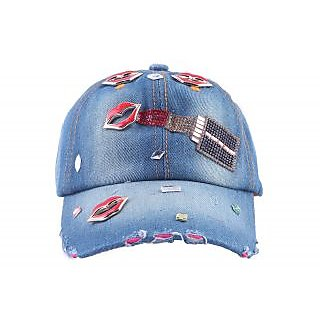 FabSeasons Denim Cap for Women