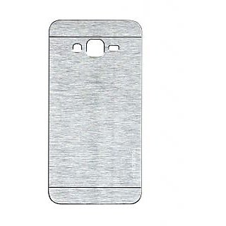 ClickAway Samsung Galaxy Grand Prime G530 Motomo Back Cover - Silver