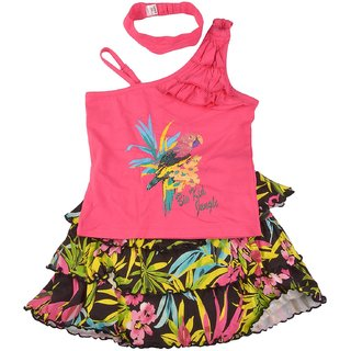 Bio Kid Lovely Garden Dress Pink