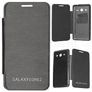 size 40 0951c 22067 SAMSUNG GALAXY CORE 2 G355 FLIP COVER(BLACK)