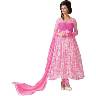 18beaa0983 Pink Brasso Dress Material