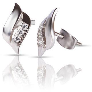 Designer Party wear Jewellery Sterling Silver EarringVJE0022 c a
