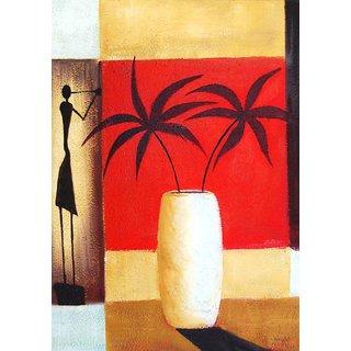 Mesleep Stick Figure Canvas