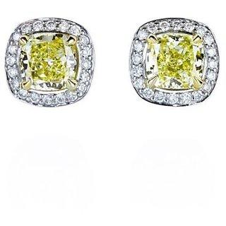 Designer Party wear Jewellery Sterling Silver EarringVJE0029 g c