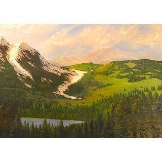 Mesleep Landscape Canvas