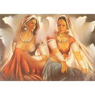 Mesleep Village Ladies Canvas