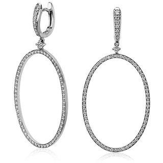 Designer Party wear Jewellery Sterling Silver EarringVJE0054 g f