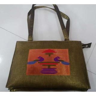 Brown Paithani Sarees HandBag