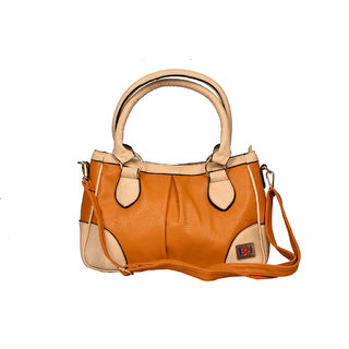 BH Wholesale Market Orange Shoulder/Hand Bag For Women