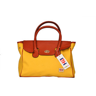 BH Wholesale Market Yellow Shoulder/Hand Bag For Women