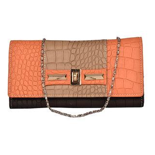 BH Wholesale Market Orange Shoulder/Hand Bag For Women